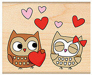 Owl Always Love You- Rubber Stamp
