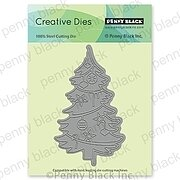 Christmas Tree Edger - Penny Black Craft Die