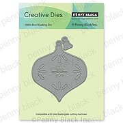 Adorn Christmas Ornament - Craft Die