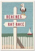 Beaches/Rat Race - Cross Stitch Kit