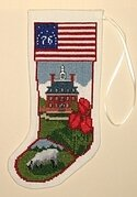 Historic Williamsburg Governor's Palace - Cross Stitch Kit