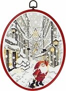 Elf in the City - Cross Stitch Kit