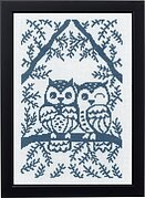 Owls - Cross Stitch Kit
