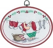 Elf Washing - Cross Stitch Kit