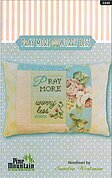 Pray More, Worry Less Pillow - Cross Stitch Kit