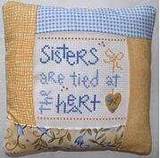 Sisters Pillow Kit - Cross Stitch Kit
