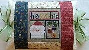 Ho Ho Ho Pillow - Cross Stitch Kit