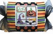 Boo Tie One On Pillow - Cross Stitch Kit