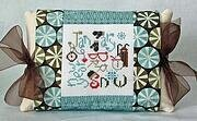January Expressions Pillow - Cross Stitch Kit