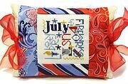 July Expressions Pillow - Cross Stitch Kit