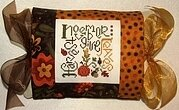 November Expressions Pillow - Cross Stitch Kit