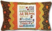 Autumn Typography Pillow - Cross Stitch Kit