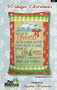 Perhaps Christmas Pillow - Cross Stitch Kit