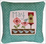 May 2011 Small Pillow Kit - Cross Stitch Kit