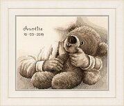 Teddy Bear (Birth Announcement) - Cross Stitch Kit