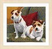 My 2 Companions - Best Friends for Life - Cross Stitch Kit