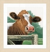 Wondering Cow - Cross Stitch Kit