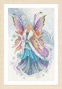 Fantasy Winter Elf Fairy - Cross Stitch Kit