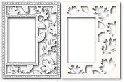Autumn Leaves Sidekick Frame - Craft Die and Stencil