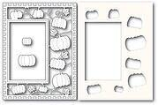 Pumpkin Patch Sidekick Frame - Craft Die and Stencil