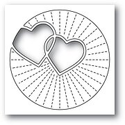 Twinkling Hearts - Valentine's Poppystamps Craft Die
