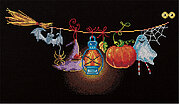 Halloween Loft - Cross Stitch Kit