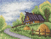Hut - Cross Stitch Kit