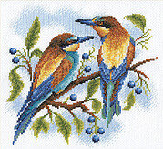 Bright Birds - Cross Stitch Kit