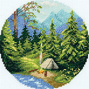 Nature - Cross Stitch Kit