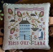 Bless Our Land - Cross Stitch Pattern