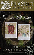 Winter Saltboxes - Cross Stitch Pattern