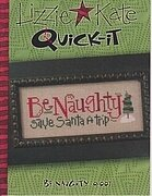 Be Naughty - Cross Stitch Pattern