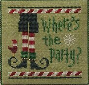 Where's the Party? - Cross Stitch Pattern