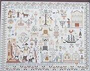 Maria Jenuaria 1833-34 - Cross Stitch Pattern
