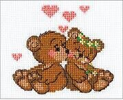 Little Imps Teddy Bears - Cross Stitch Kit