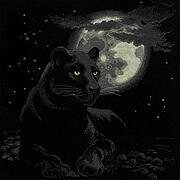 Full Moon - Cross Stitch Kit
