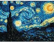 Starry Night After Van Gogh Painting - Cross Stitch Kit