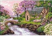 Spring View - Cross Stitch Kit
