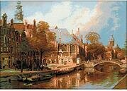 Amsterdam - Cross Stitch Kit