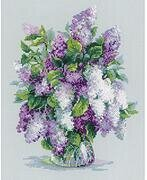 Gentle Lilac - Cross Stitch Kit