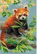 Red Panda - Cross Stitch Kit