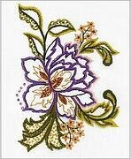 Flower Sketch - Embroidery Kit