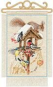 Cottage Garden In Winter - Cross Stitch Kit
