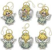 Little Angels Christmas Ornaments - Cross Stitch Kit