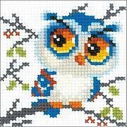 Scops Owl - Cross Stitch Kit