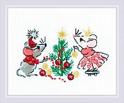 Waiting for a Holiday - Christmas Cross Stitch Kit