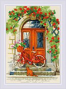 Italian Door - Cross Stitch Kit