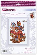 Fairytale House - Cross Stitch Kit