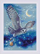 Magic Owl - Cross Stitch Kit