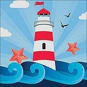 Starry Lighthouse - Diamond Mosiac Kit